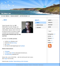 telemat.de - Screenshot des Blogs